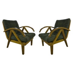 Pair of Lounge Vintage Armchairs 1960s, Europe
