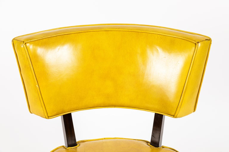Pair of Low Chairs Designed by William Haines For Sale 2