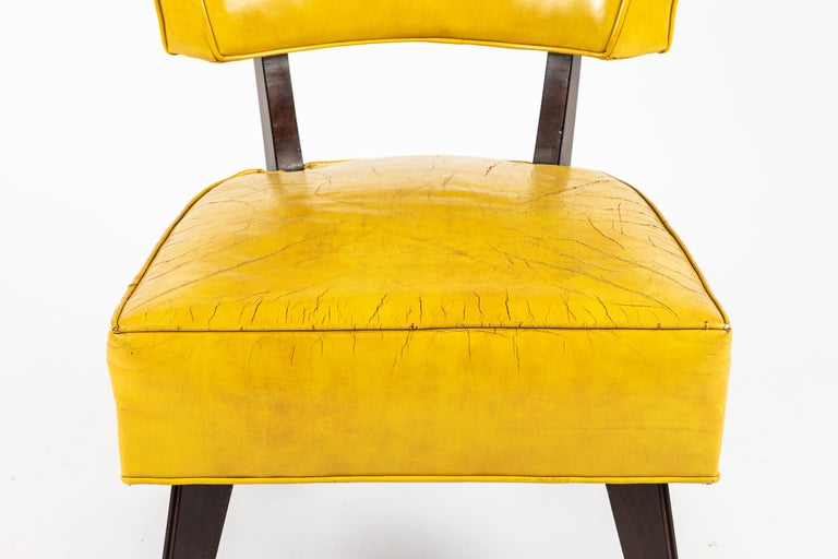 Pair of Low Chairs Designed by William Haines In Good Condition For Sale In Los Angeles, CA