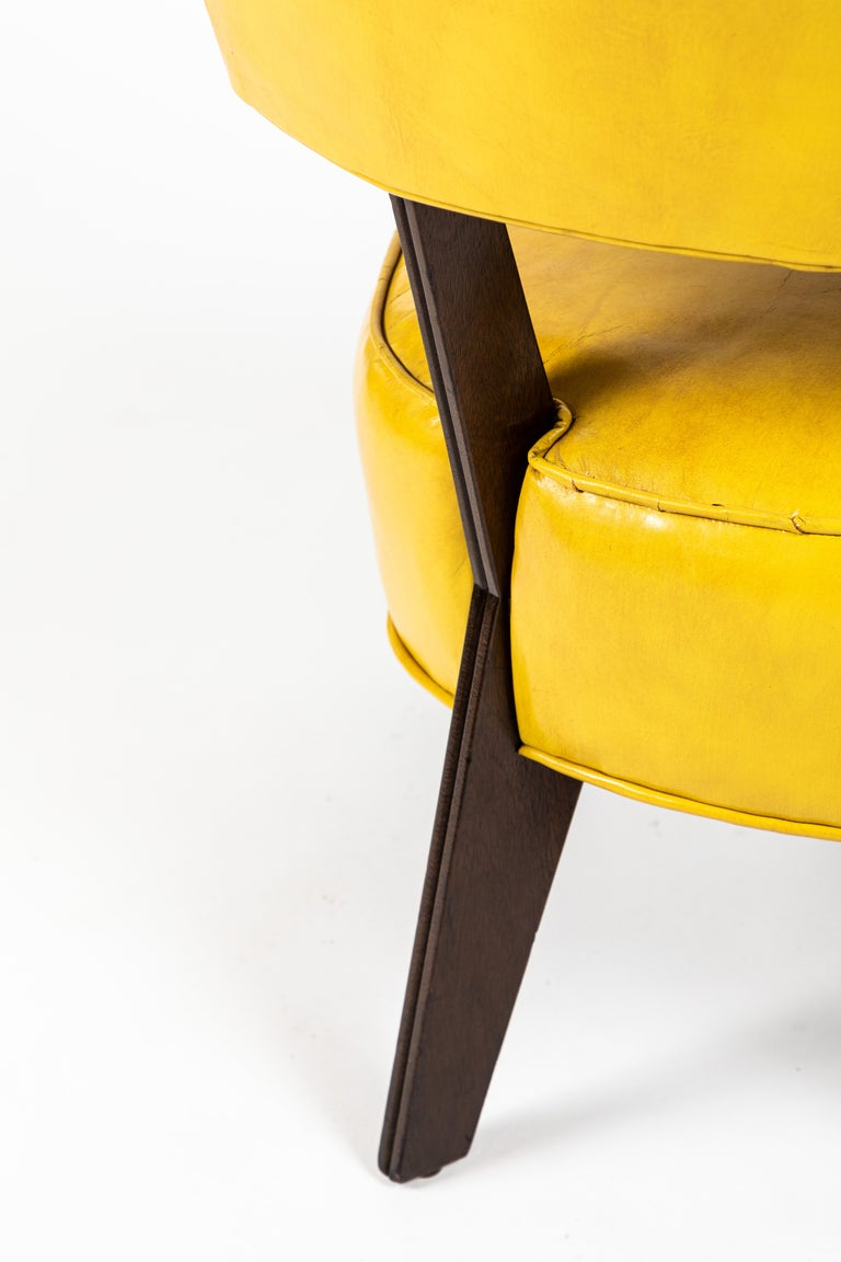 Mid-20th Century Pair of Low Chairs Designed by William Haines For Sale