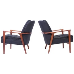 "Pair of Midcentury Inge Andersson ""Tulip"" Lounge Chairs, 1960s"