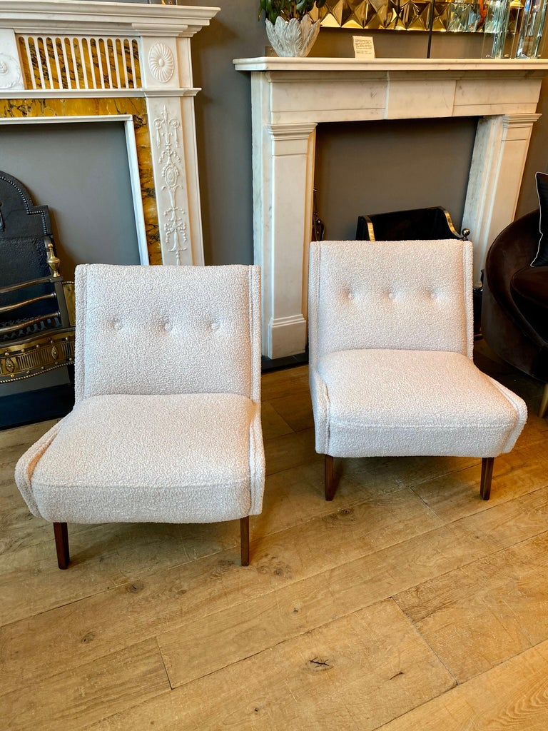 20th Century Pair of Mid-Century Modern Chairs by Ernest Race  For Sale