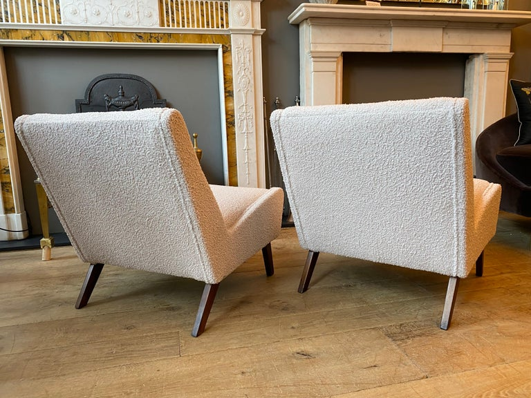 Pair of Mid-Century Modern Chairs by Ernest Race  For Sale 2