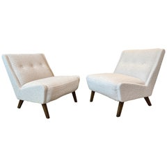 Pair of Mid-Century Modern Chairs by Ernest Race