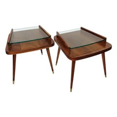 Pair of Mid-Century Modern Side Tables, American, circa 1950