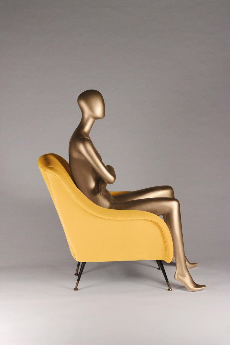 Sophia was inspired by stylish Italian design from the 1950s and is now created by English craftsman for the 21st century. We developed a lounge chair with the option of producing any number to your fabric specification. The price quoted is based on