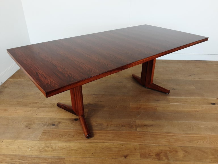 Pair of Midcentury Rosewood Dining Tables by Gordon Russell 7
