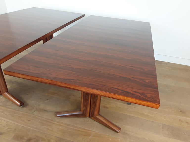 Pair of Midcentury Rosewood Dining Tables by Gordon Russell 10