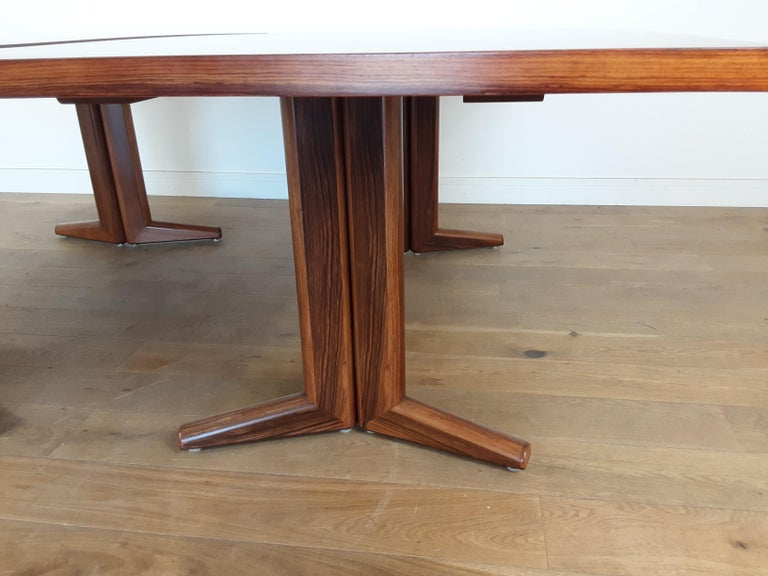 Pair of Midcentury Rosewood Dining Tables by Gordon Russell 11