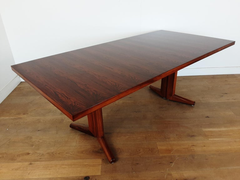 Pair of Midcentury Rosewood Dining Tables by Gordon Russell 12
