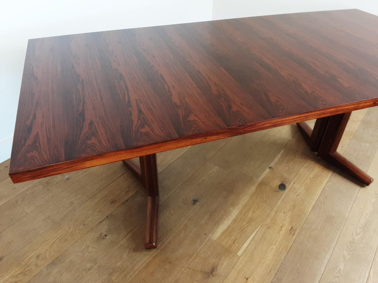 Pair of Midcentury Rosewood Dining Tables by Gordon Russell 14