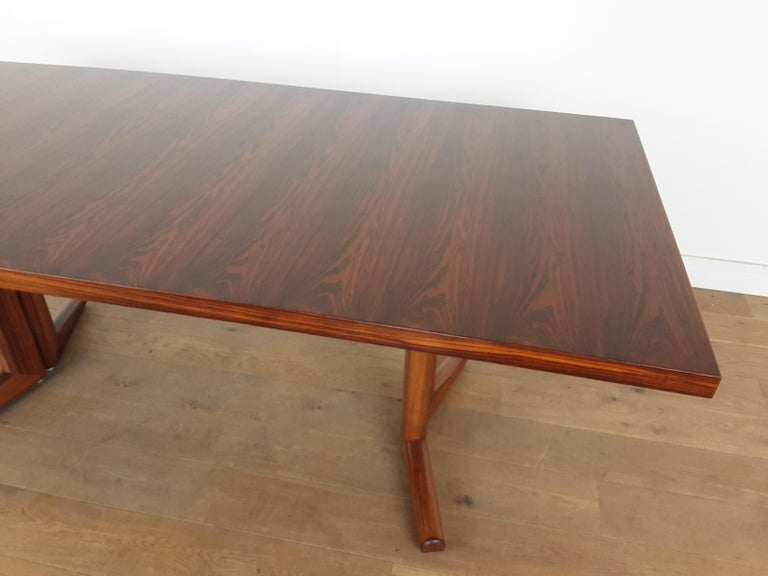 Pair of Midcentury Rosewood Dining Tables by Gordon Russell In Good Condition In London, GB