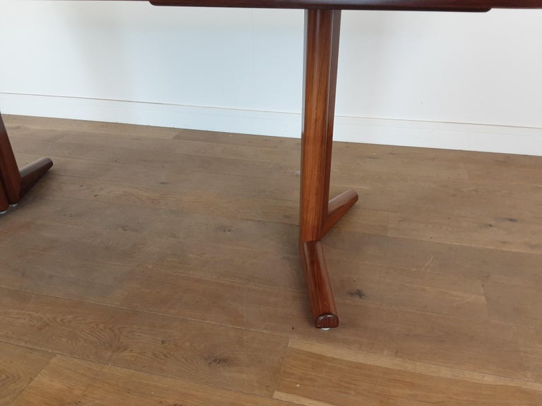 20th Century Pair of Midcentury Rosewood Dining Tables by Gordon Russell