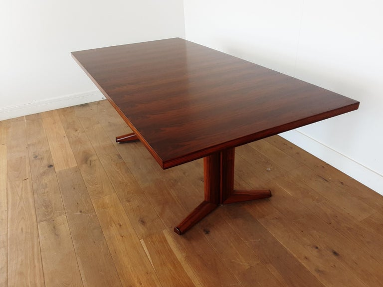 Pair of Midcentury Rosewood Dining Tables by Gordon Russell 1