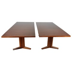 Pair of Midcentury Rosewood Dining Tables by Gordon Russell