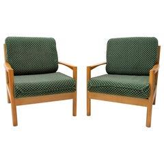 Pair of Mid Century Scandinavian Style Armchairs, 1970´S