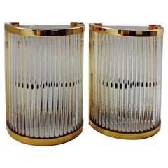 Pair of Midcentury Venini Wall Lights