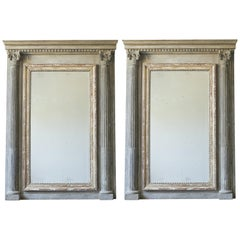 Pair of Neoclassical Style Mirror