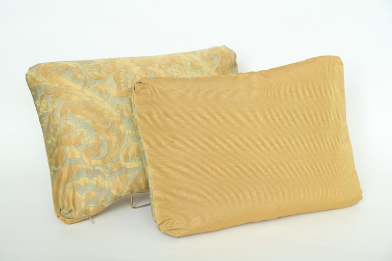 Baroque Revival Fortuny Oblong Cushions in the