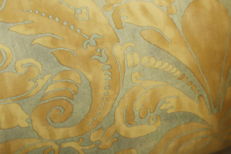 20th Century Fortuny Oblong Cushions in the