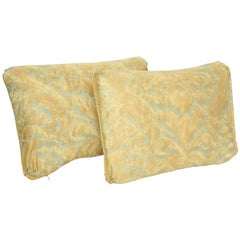 "Fortuny Oblong Cushions in the ""Caravaggio"" Pattern-A Pair"