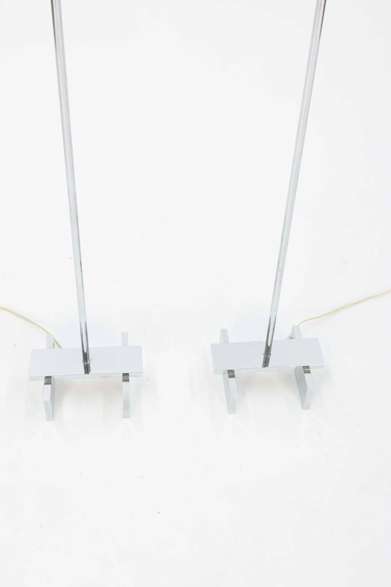 Mid-Century Modern Pair of Paul Mayen Floor Lamps for Habitat International For Sale