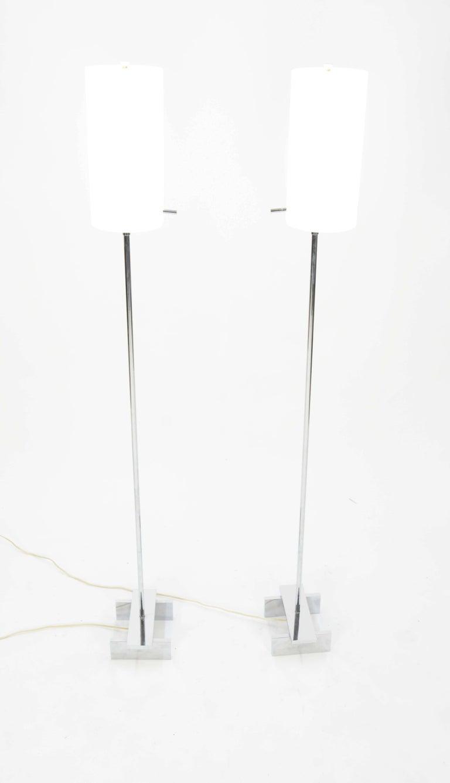 Mid-20th Century Pair of Paul Mayen Floor Lamps for Habitat International For Sale