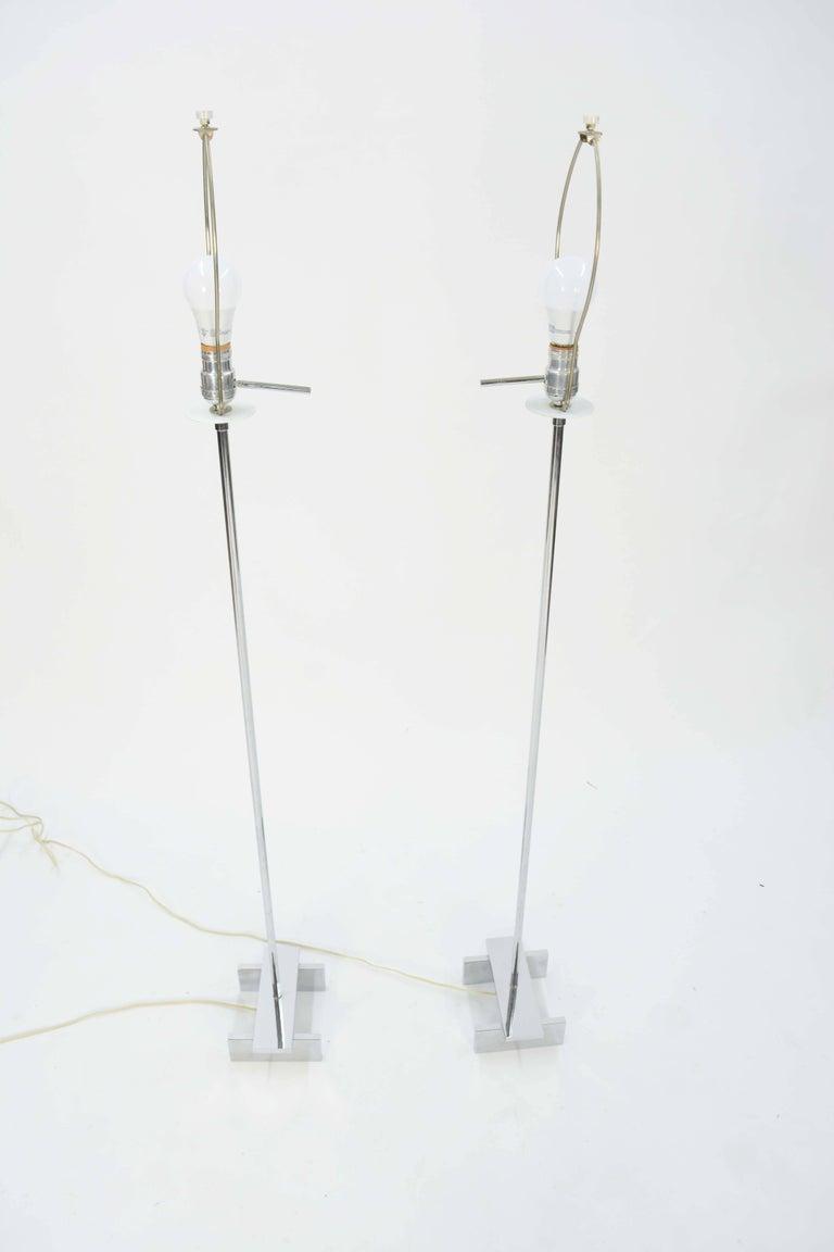 Pair of Paul Mayen Floor Lamps for Habitat International For Sale 1