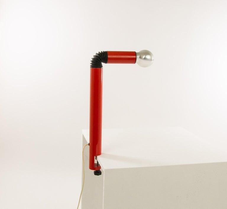 Cast Pair of Periscopio Table Lamps by Danilo & Corrado Aroldi for Stilnovo, 1967 For Sale