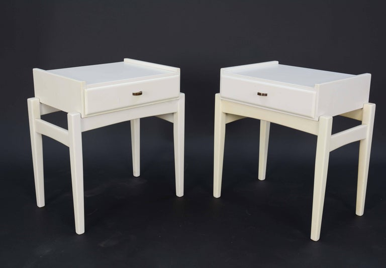 Danish Pair of Peter Lovig Nielsen Nightstands For Sale