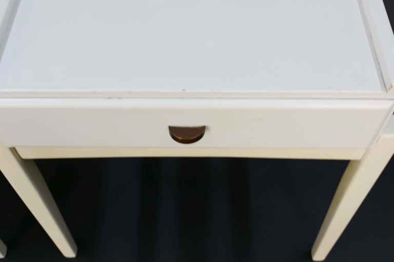 Mid-20th Century Pair of Peter Lovig Nielsen Nightstands For Sale