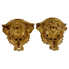 Pair of Rococo Wall-Consoles Made ca 1760