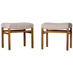 Pair of Scandinavian Modern Stools