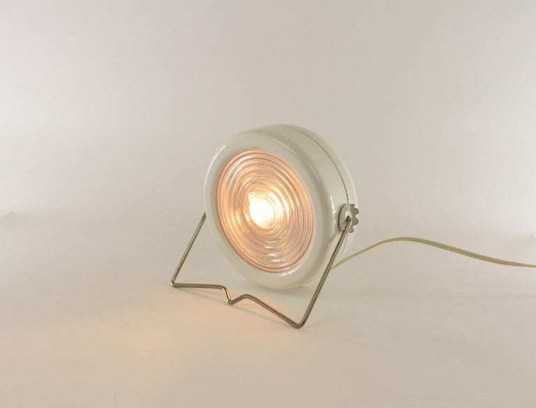 Mid-Century Modern Pair of Sciuko Table Lamps by Achille & Pier Giacomo Castiglioni for Flos, 1966 For Sale