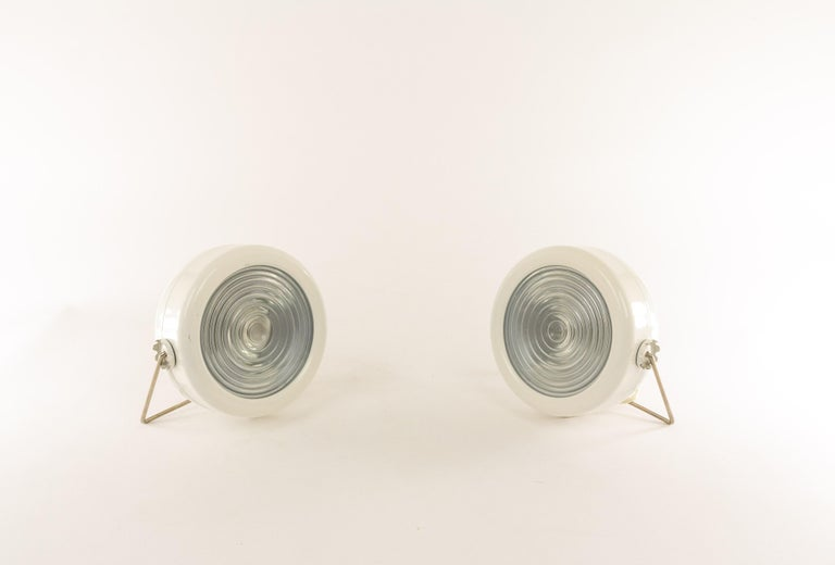 Pair of Sciuko Table Lamps by Achille & Pier Giacomo Castiglioni for Flos, 1966 In Good Condition For Sale In Rotterdam, NL