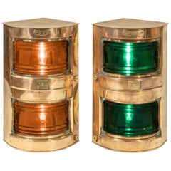 Pair of Ship's Navigation Lights