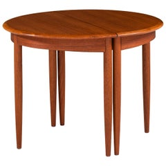 Pair of Side Tables in Teak Produced in Sweden