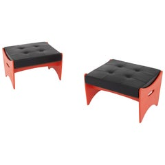 Pair of Stools by Unknown Architect