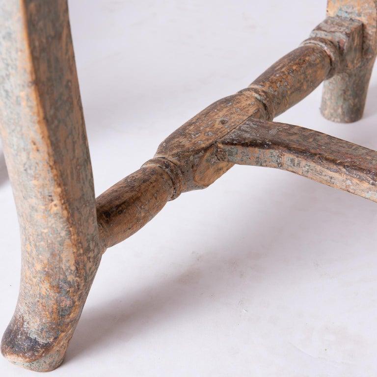 Pair of Swedish Rococo Period Side Chairs, circa 1760 In Good Condition For Sale In New Preston, CT