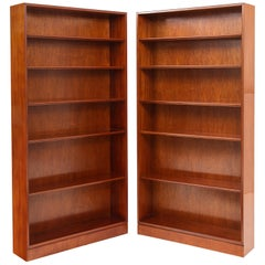 Pair of Tall Frits Henningsen Bookcases, circa 1940