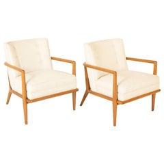 Pair of T.H. Robsjohn Gibbings Armchairs