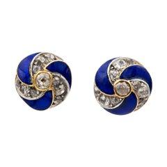 19th Century Stud Earrings