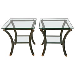 Pair of Vintage Pierre Vandel Side Tables