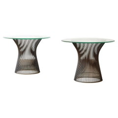 Pair of Warren Platner for Knoll Side Tables, USA