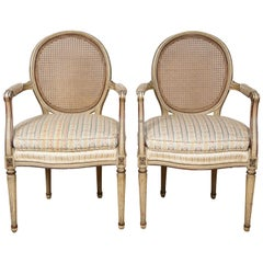 A Pair of XVI Arm Chairs