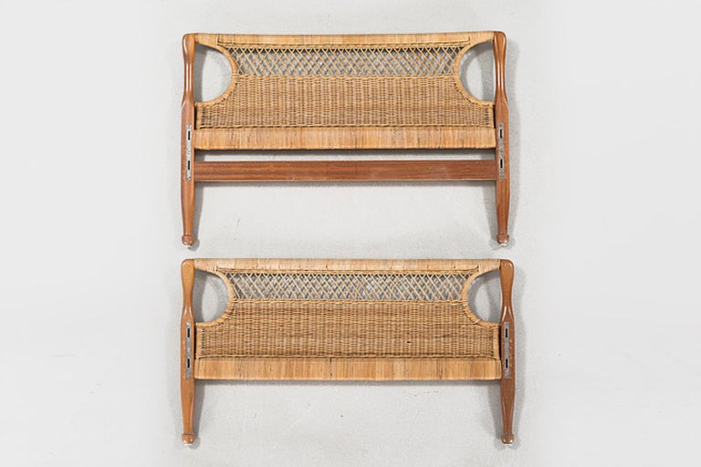 Woodwork Pair of 20th Century Swedish Headboards by Josef Frank For Sale