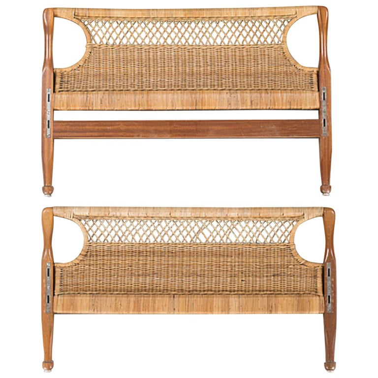 Pair of 20th Century Swedish Headboards by Josef Frank For Sale