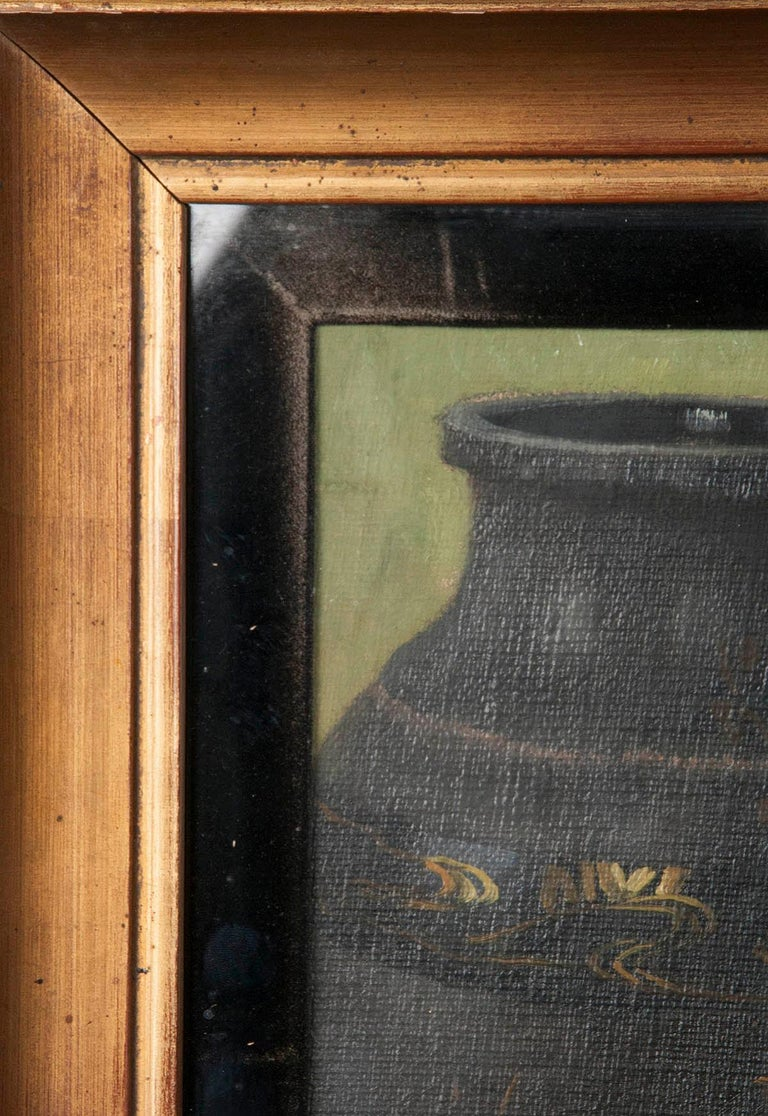 Pair of Oil Paintings, Still Life with Fruit by Eddy Passauro, Dated 1932 For Sale 8