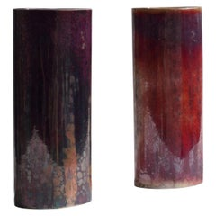 Pair of Vases Sèvres, Manufacture de Sèvres, 1986