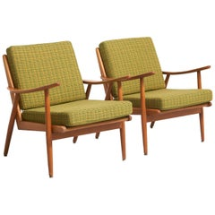 Pair of Easy Chairs in Ash, 1960s